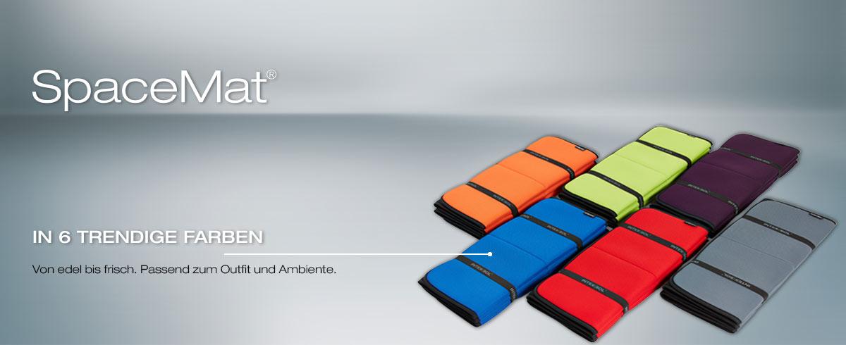Fitnessmatte in 6 trendigen Farben